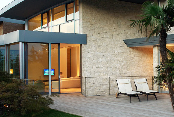 Rivestimento Esterno Casa Moderna : Finiture woodlogic